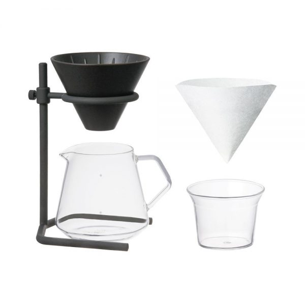 KINTO SLOW COFFEE STYLE SPECIALTY brewer stand set 4cups, Porcelain 1