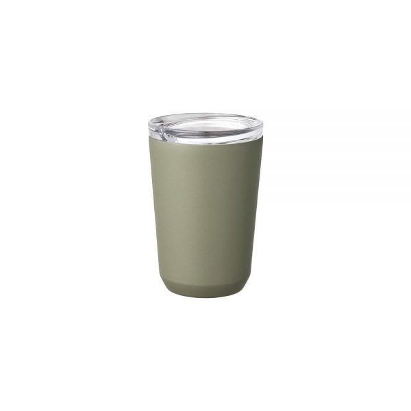 KINTO TO GO TUMBLER khaki, 360ml / 12oz 1