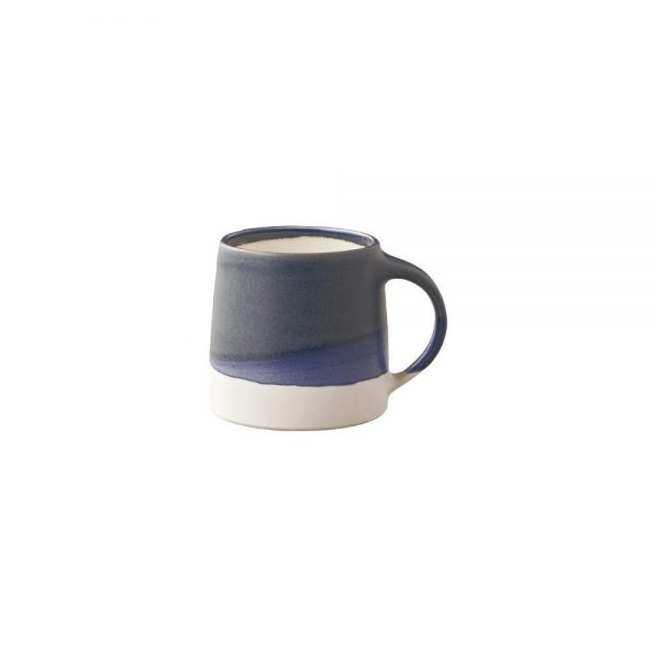 KINTO SLOW COFFEE STYLE SPECIALTY mug 320ml navy x white 1
