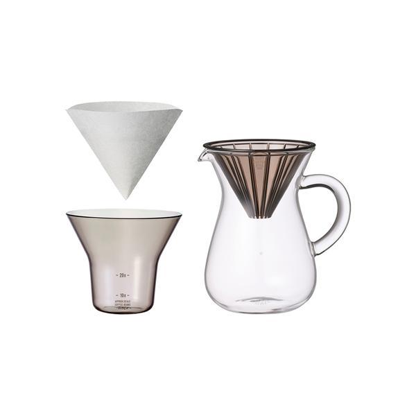 KINTO SLOW COFFEE STYLE coffee carafe set Plastic, 300 ml