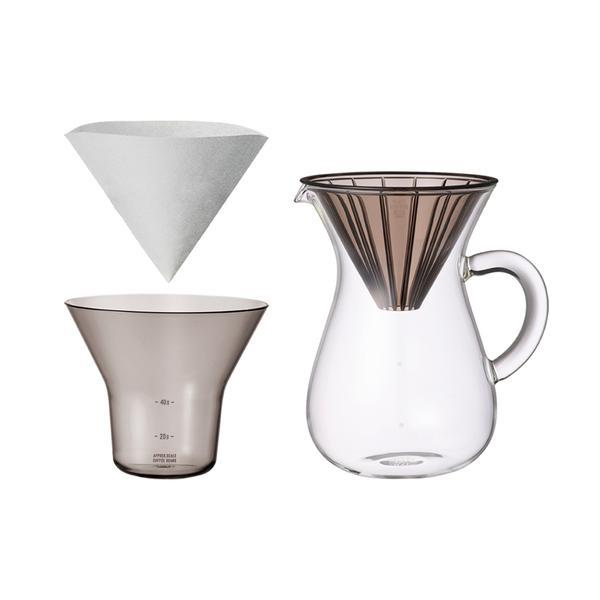 KINTO SLOW COFFEE STYLE coffee carafe set Plastic, 600 ml